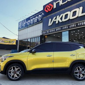 KIA Seltos  Starbright yellow (B4Y)
